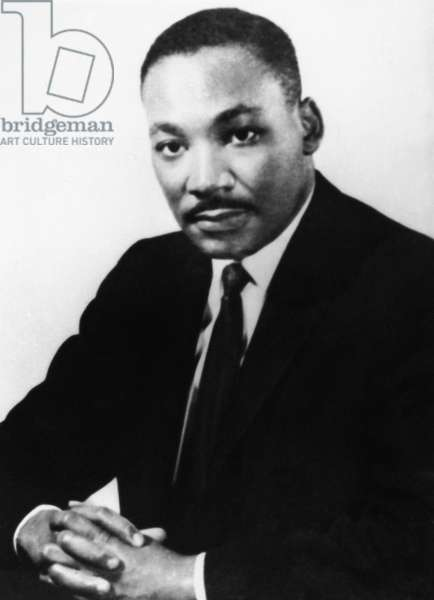 MARTIN LUTHER KING, JR (1929-1968). American clergyman and civil rights leader. Undated photograph.