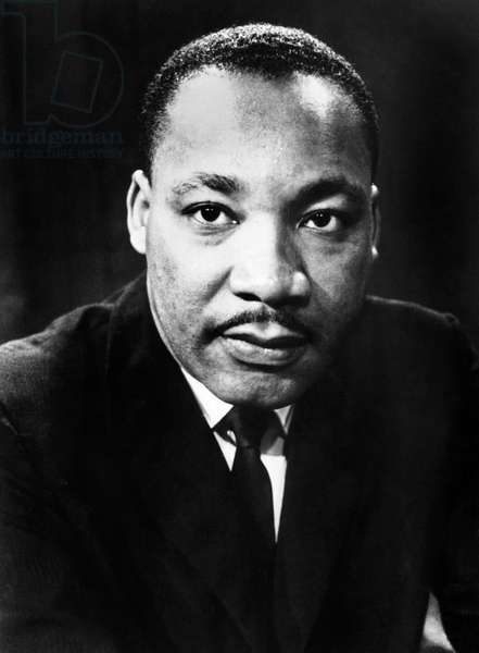 MARTIN LUTHER KING, Jr (1929-1968). American cleric and reformer. Photograph, c.1968.