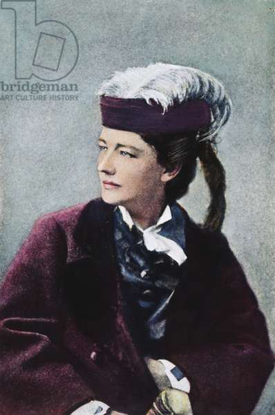 VICTORIA CLAFLIN WOODHULL (1838-1927). American reformer. Oil over a photograph.