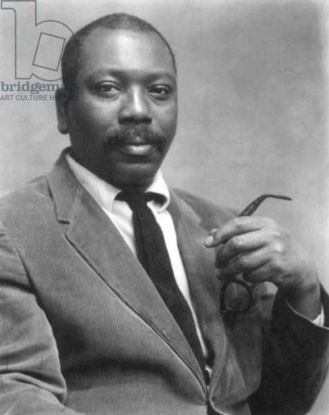 JACOB LAWRENCE (1917-2000) American painter, illustrator, and educator.