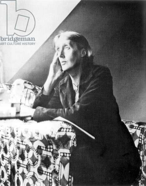 VIRGINIA WOOLF (1882-1941) English writer; photographed in the 1930s.