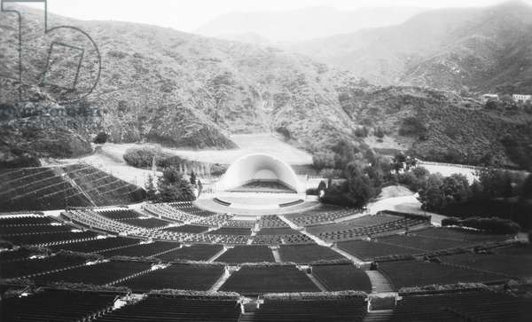HOLLYWOOD BOWL, c.1929 The Hollywood Bowl at Hollywood, California, built in 1922. Photographed c.1929.