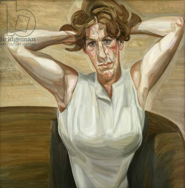 Figure with Bare Arms, 1961-62 (oil on canvas)