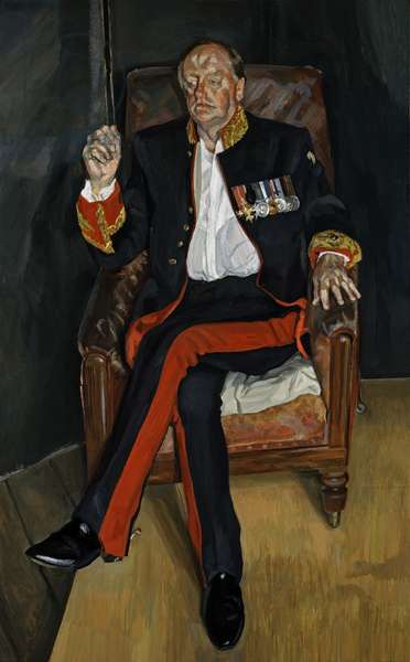 The Brigadier, 2003-04 (oil on canvas)