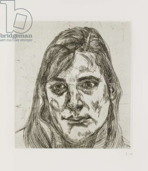 Esther, 1991 (etching on paper)