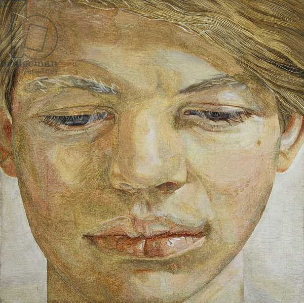 Head of a Boy, 1954 (oil on canvas)