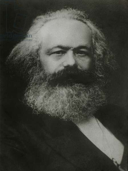 Karl Marx (1818-1883), German Philosopher,1875, Portrait