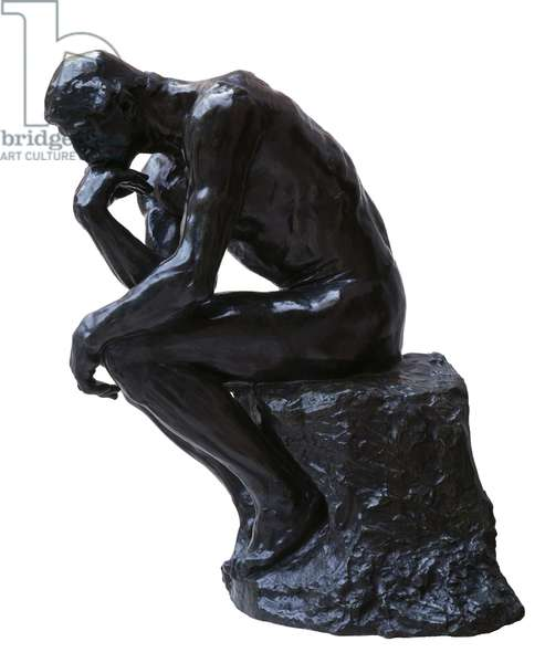 The Thinker, 1880-81 (bronze)