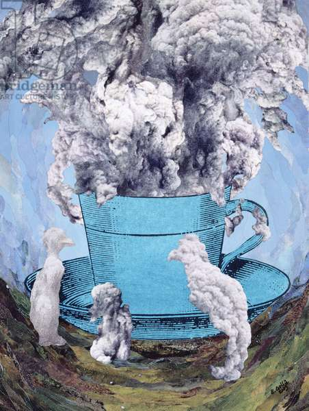 Afternoon Tea, 2003 (collage)