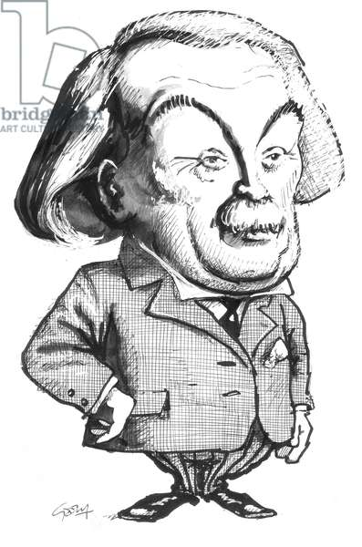 Lloyd George (ink on paper)