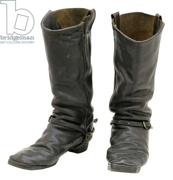 Boots of Sergeant Charles Darling (leather)
