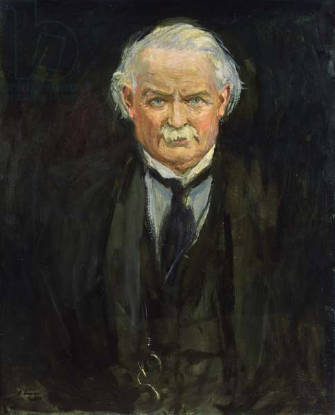 David Lloyd George, 1922 (oil on canvas)