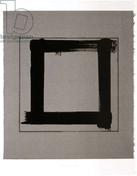 Untitled III, 1983 (screenprint on Japanese handmade paper)