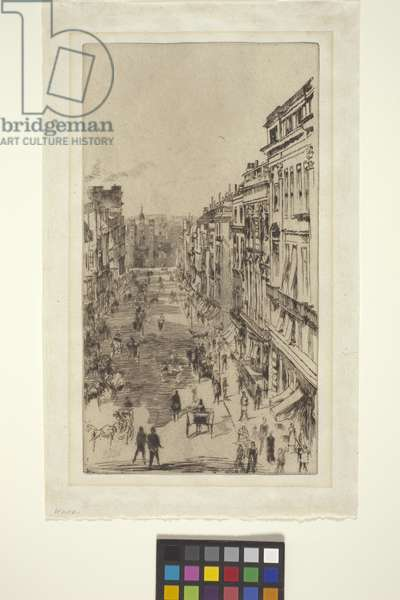St. James Street (etching)