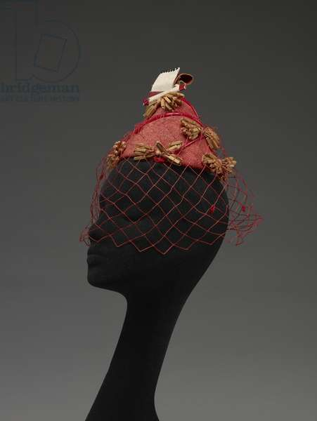 Hat with cigarette and matches, 1960 (mixed media)
