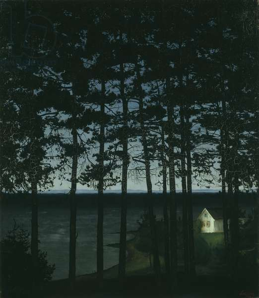 Fisherman's Cottage, 1906 (oil on canvas)