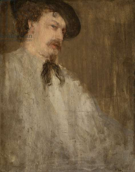Portrait of Dr. William McNeill Whistler, 1871-73 (oil on panel)