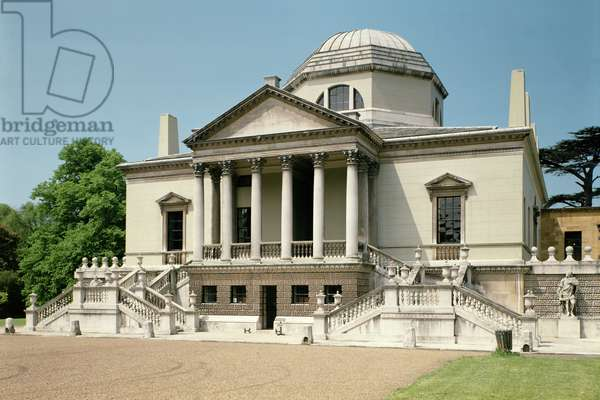 Chiswick House, Exterior View of the East, London, UK, 1725-29 (photo)