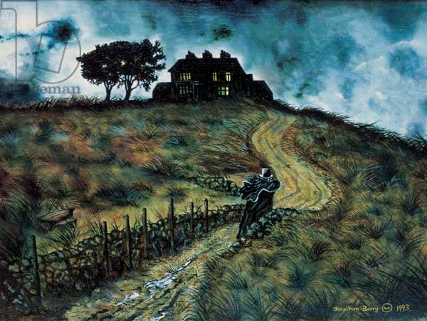 Heathcliff Returns, 1993 (oil on canvas)