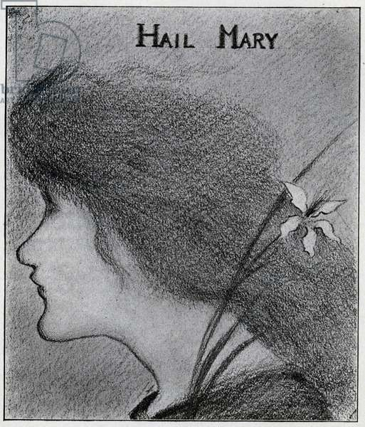 Hail Mary (pencil)