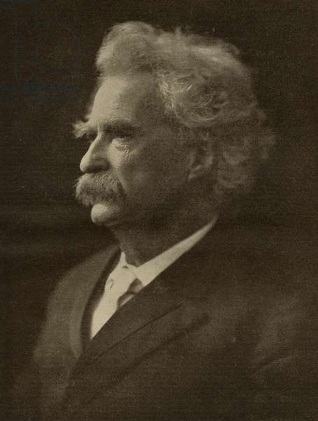 Mark Twain (1835-1910) (litho)
