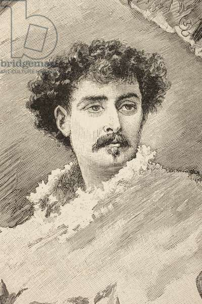 Mariano Fortuny y Marsal, from 'Album Artistico', published c.1890 (litho)