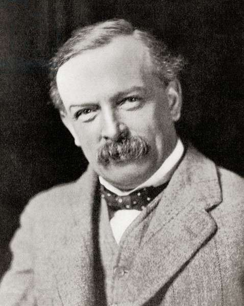 David Lloyd George, 1st Earl Lloyd-George of Dwyfor, from Hutchinson's History of the Nations, pub.1915