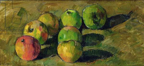 Still Life with Apples, 1878 (oil on canvas)