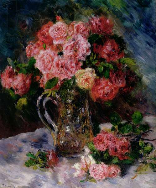 Roses, c.1879 (oil on canvas)