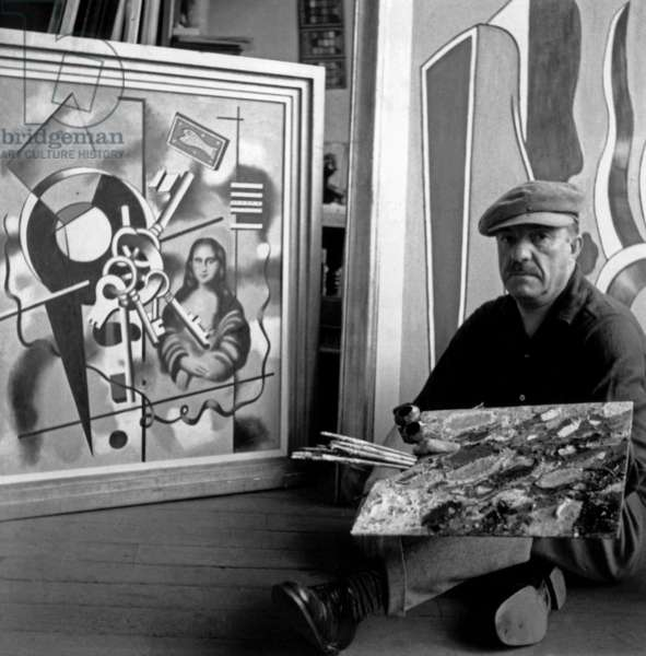 Fernand Leger, 1934 (b/w photo)