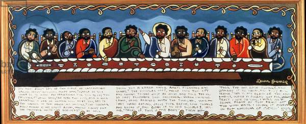The Lord's Supper, 1997 (acrylic on canvas)
