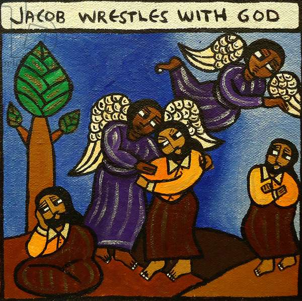 The Story of Jacob, 1997 (acrylic on canvas)
