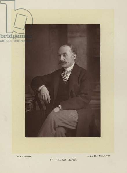 Mr Thomas Hardy (b/w photo)
