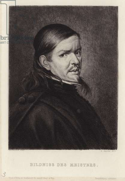 Portrait of Bartolome Esteban Murillo (engraving)