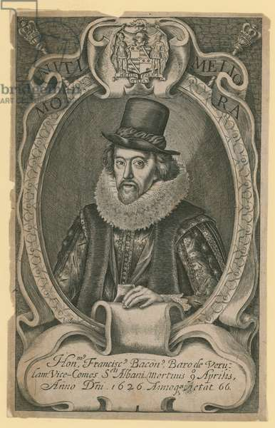 The Honourable Francis Bacon (engraving)