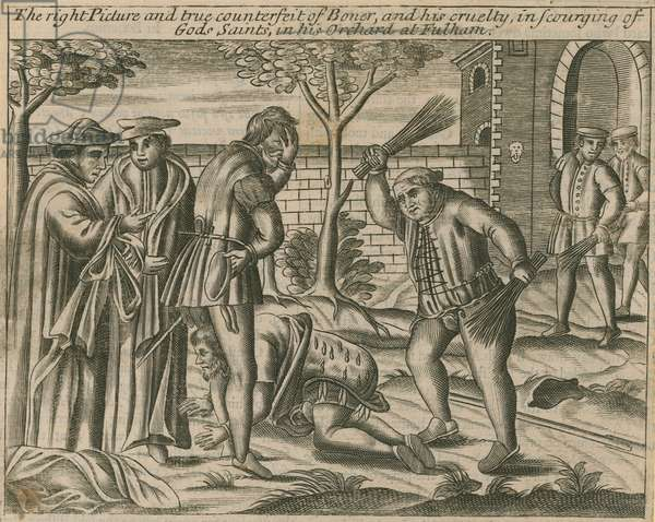 The right picture and true counterfeit of Boner (engraving)