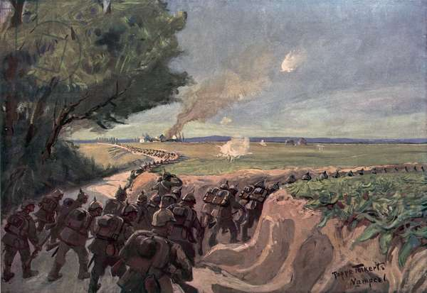 Western Front (colour litho)