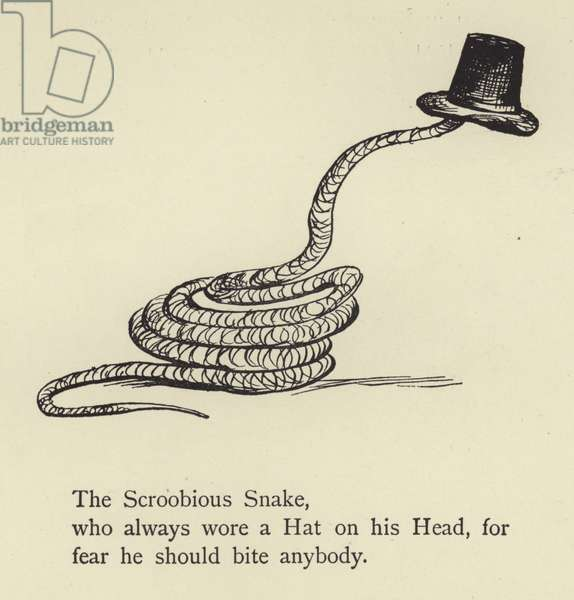 The Scroobious Snake (engraving)