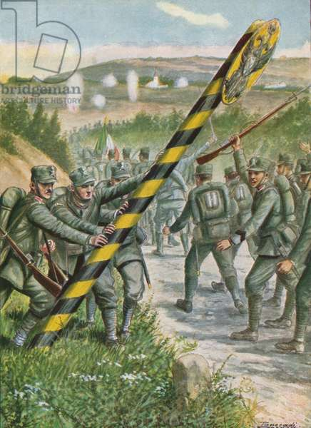 24 May 1915, War on the Austro-Hungarian Empire