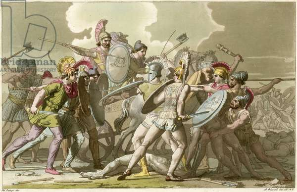 Battle with ancient Greeks