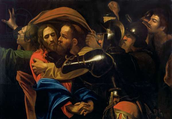 The Taking of Christ (oil on canvas)