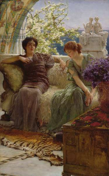Unwelcome Confidence, 1895 (oil on panel)