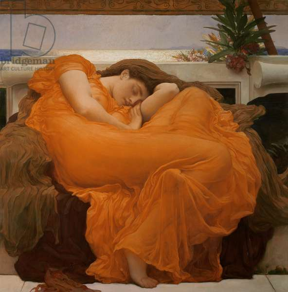 Flaming June, c.1895 (oil on canvas)