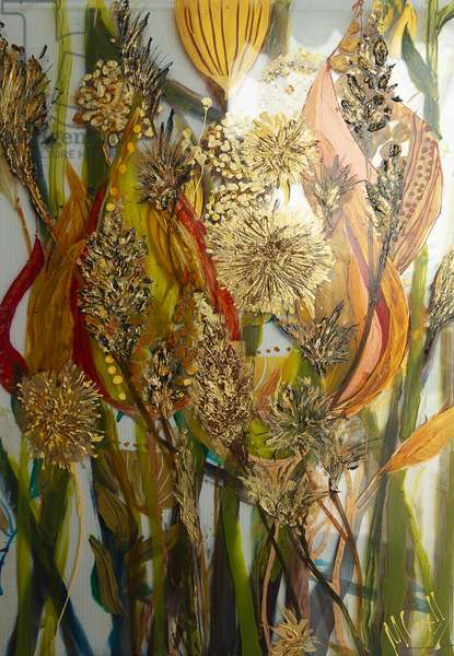 Seeds and weeds, acrylic