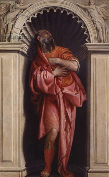 Philosopher Plato, by Paolo Caliari, known as Veronese, 16th century, oil on canvas.