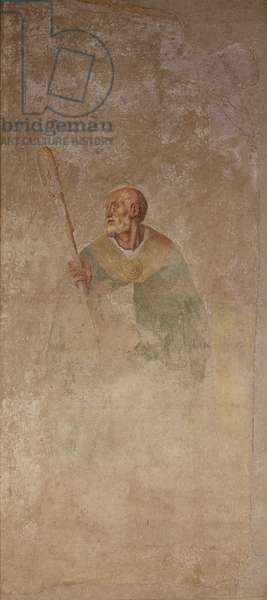 Tabernacle Boldrone, by Jacopo Carrucci known as Pontormo, 1526, 16th century, fresco.