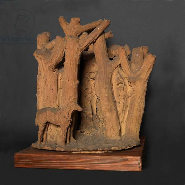Lovers or Forest, 1932 (terracotta)