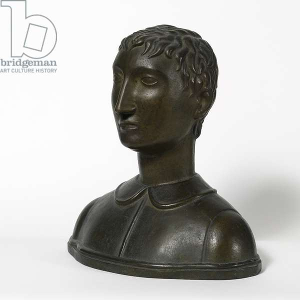 Bust of Boy, 1921 (bronze)