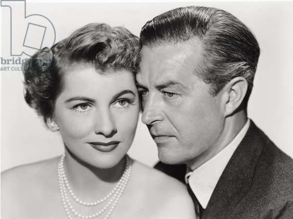Ray Milland and Joan Fontaine in 'Something to Live For', 1952 (b/w photo)