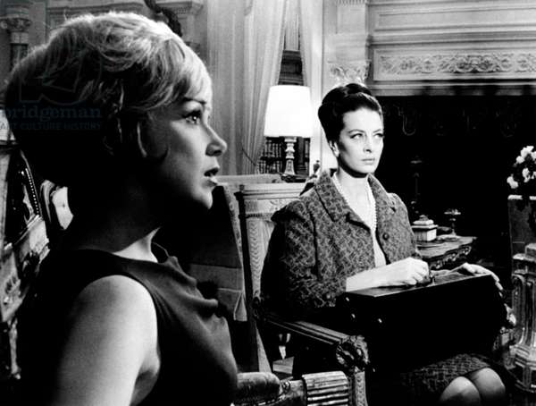 Capucine and Edie Adams in 'The Honey Pot', 1967 (b/w photo)